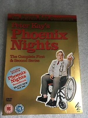 Phoenix Nights - Series 1 And 2 - Complete DVD 2-Disc Set, Box Set soundtrack CD