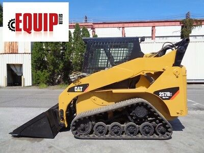 2011 Caterpillar 257B2 High Flow Track Skid Steer - Enclosed Cab - Heat & AC