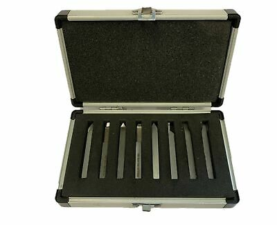Rdgtools Hss 8Pc Turning Facing Threading Tool Set 10Mm Shank