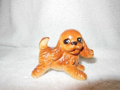 Small Vintage Ceramic   Puppy Dog Figurine.