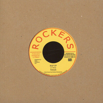 "Tetrack / Pablo Levi & Cleve - Rap Up/Three In (Vinyl 7"" - 1980 - FR - Reissue)"