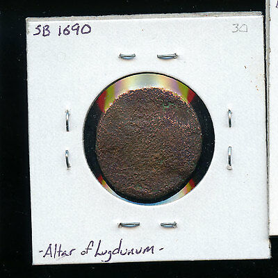 ROMAN AUGUSTUS AE as. Lugdunum mint, 10 BC The Altar at Lugdunum. B872