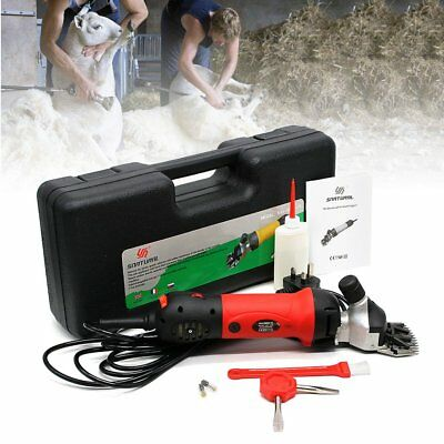 650W Electric Pet Sheep Shearing Clipper Wool Goat Alpaca Grooming Farm Supplies