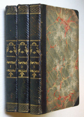 Croly: SALATHIEL: A STORY OF THE PAST, THE PRESENT, AND THE FUTURE • 3 vols1829