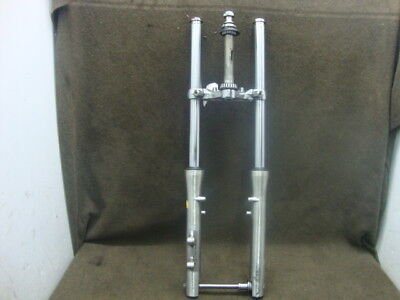 86 Suzuki Vs700 Vs 700 Gl Intruder Fork Set, Tubes, Axle, Straight!! #yl28