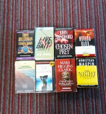 Audiobooks On Tapes Lot Of 8
