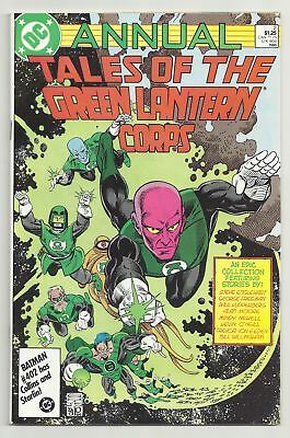 Tales of the Green Lantern Corps Annual 2 1st Sodam Yat Ion 1st Blackest Night