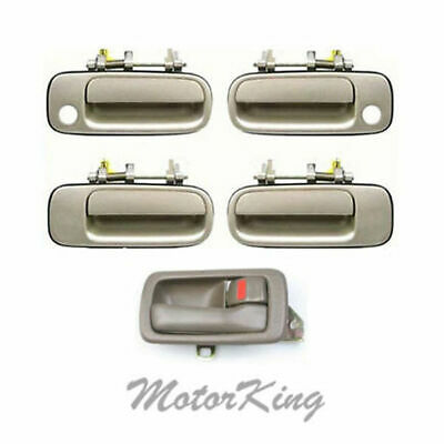 92-96 For Toyota Camry 4 Brown Inside 4 Beige 4M9 Outside Door Handle DS45