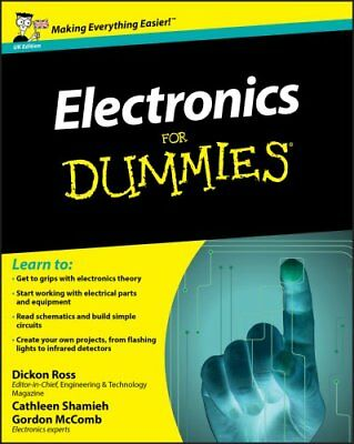 Electronics For Dummies by Dickon Ross 9780470681787 (Paperback, 2009)
