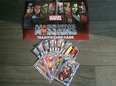 Topps Marvel Missions Cards Holographic 2 Cards For £1.50 Choose From List