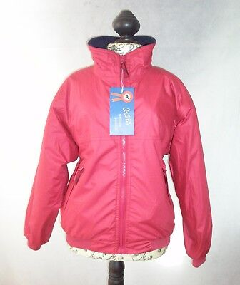 Loveson Child's Red Blouson Jacket Size Small