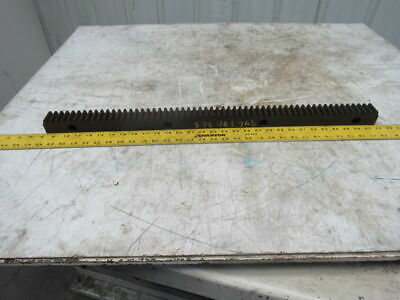 "Flat Pinion Gear Rack 57T 0.151 MOD 1.5"" Face 29.250"" 1/2"" Pitch Approx."