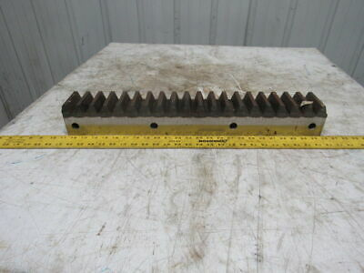 "Flat Pinion Gear Rack 20T 0.382 MOD 3-1/8"" Face 23-1/2"" 1/2"" Pitch Approx."
