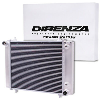 DIRENZA 50mm HIGH FLOW RADIATOR RAD FOR LAND ROVER DISCOVERY DEFENDER 200 TDI