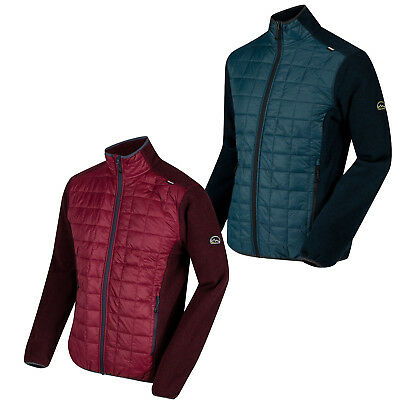 Regatta Mens Chilton Hybrid Padded Part Quilted Style Zip Jacket £32.95 Free PP