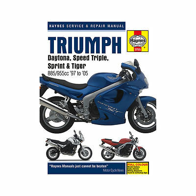 Genuine Haynes Workshop Manual Triumph T509 955i T595 Sprint ST RS Tiger 885 955