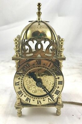 Electric Brass Mantle Clock