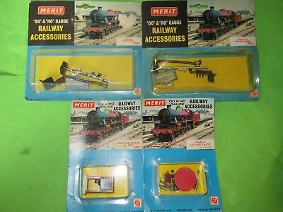 Merit OO gauge 5094 Signal & switch box x2 Ticket Collector cable laying party