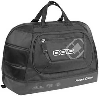 "New Ogio Head Case Helmet Accessory Bag, Stealth/Black, 19""H X 13""W X 11""D"