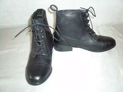 **NEW** Dublin Laced Paddock Boots In Black