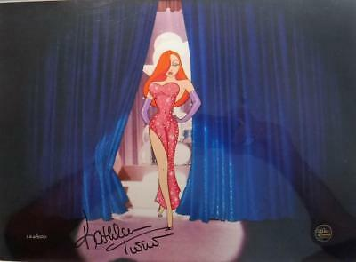 Signed voice Kathleen Turner Disney Jessica's Debut Limited Edition cel NEW