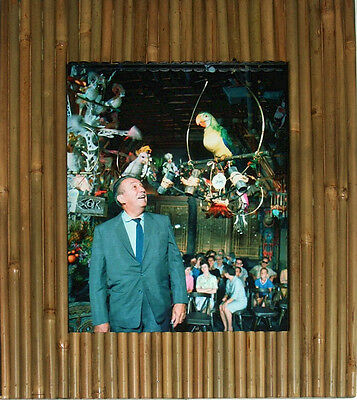 NEW 8x10 Enchanted Tiki Room Tropical Serenade Walt Disney Jose Barker Bambo Fra