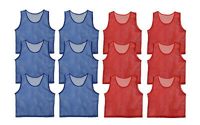 Get Out!™ Youth Teen and Adult Size Scrimmage Vests Pinnies Set of 12