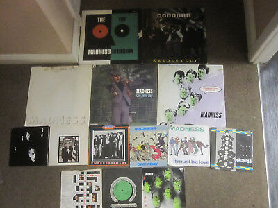 """Madness Record Collection 7"""" 12"""" Lp Vinyl"""