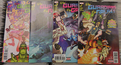 NEW Marvel All New Guardians of the Galaxy 1-4! 4 Comic Lot!