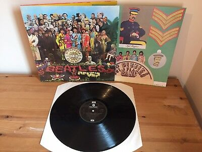 The Beatles Sgt Peppers Lonely Hearts Club Band Gatefold
