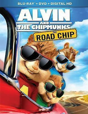 Alvin and the Chipmunks: The Road Chip BLU-RAY DVD FREE SHIPPING!!