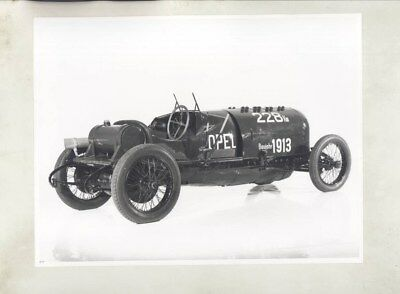 1913 1914 Opel 260PS Race Car ORIGINAL Factory Photo & Press Sheet wy5284