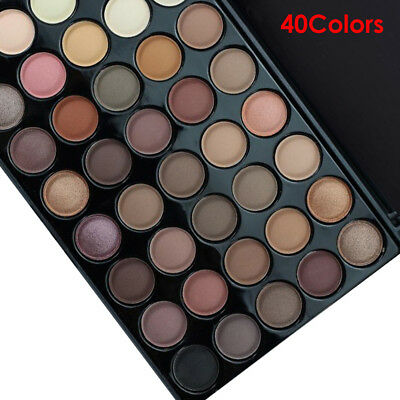 Cosmetic Matte Eyeshadow Cream Eye Shadow Makeup Palette Shimmer Set 40Colors US