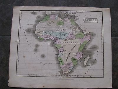 1829 ORIGINAL Map of Colonial Africa
