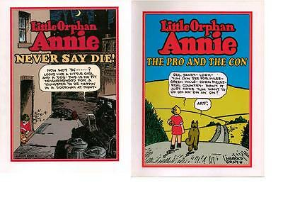 Little Orphan Annie ~ Vintage Comic Strips - B ~ Lot Of 4 Scarce  Books - New!
