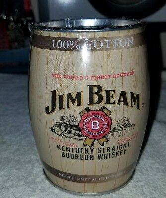 Jim beam whiskey Can Bank Barrel With Size Large Shorts RARE!!!!!! Bottle