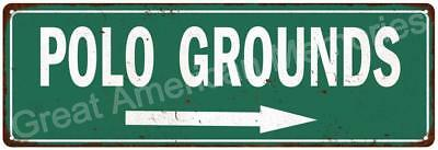 Polo Grounds Vintage Look Reproduction Metal Sign 6x18 6180578