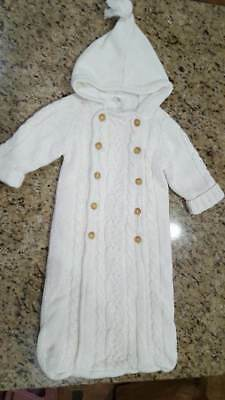 Baby Gap SIZE 6-9 Months Infant Sweater Winter Bunting/Snowsuit~Unisex Boy/Girl
