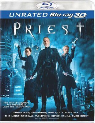 Priest (Unrated Version) [Blu-ray 3D] NEW!