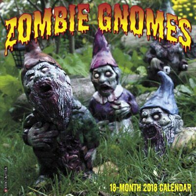 Zombie Gnomes 2018 Wall Calendar by Willow Creek Press 9781682346976