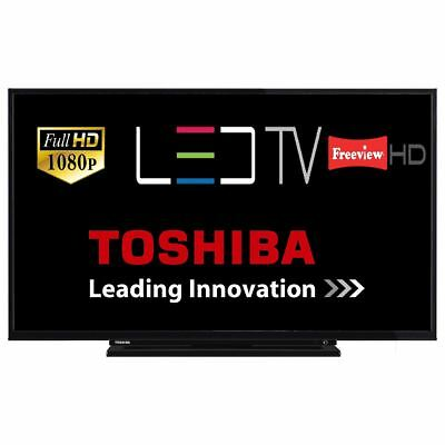 """Toshiba 43L1753 43"""" LED TV Full HD 1080p With Freeview HD Tuner HDMI USB"""