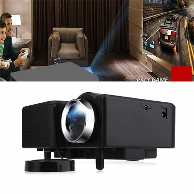 7000 Lumens Full HD 1080P LCD 3D VGA HDMI TV Home Theater Projector Cinema US MM