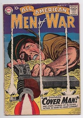 DC Comics All American Men of War #67 1st Gunner and Sarge by Andru Silver Age