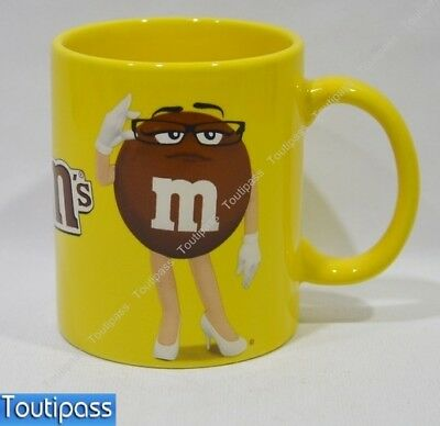 M&M's chocolat mug céramique décor Miss Brown Neuf
