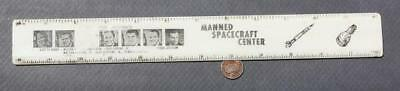 1960s NASA Mercury Astronauts John F.Kennedy Space Center ruler-Glenn-Grissom #2