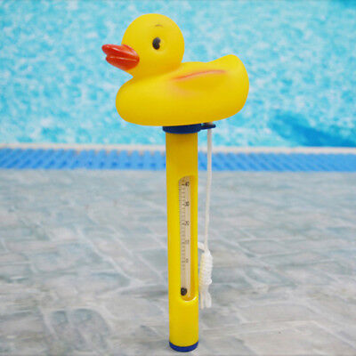 Little Yellow Duck Cartoon Swimming Pool Water Thermometer Floating Children