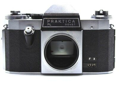 Praktica PL NOVAL Camera Body No Reserve Please Read Don't Know Anything On It
