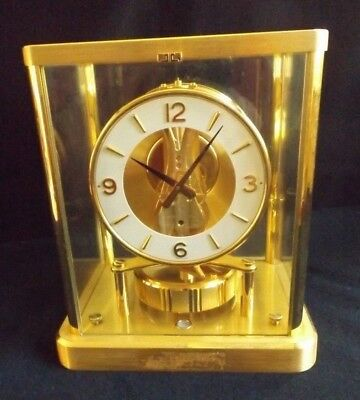 Jaeger Le Coultre Atmos Clock #627273 Cal 540   For Repair   I Had It Running!