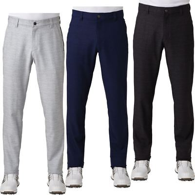Adidas Ultimate 365 Prime Heather Tapered Mens Golf Trousers / Pants