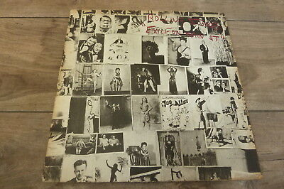 The Rolling Stones - Exile On Main St 1972 UK Double LP 1st + Postcards